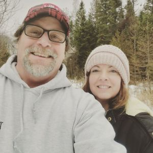 Hiking in the beautiful Upper Peninsula by the cabin