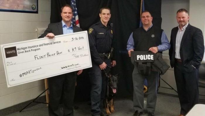 Bullet Proof Vests for Canines - Flint