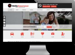 example of desktop website view